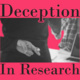 ORI Seminar - Deception in Research