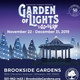 Montgomery Parks, Brookside Gardens 2019 Garden of Lights Exhibit