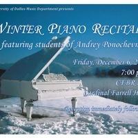2019 Winter Piano Recital