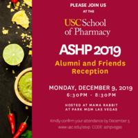 ASHP 2019 Alumni and Friends Reception