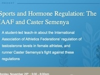 Sports and Hormone Regulation: The IAAF and Caster Semenya