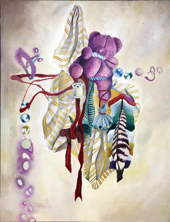External Influences and Internal Construction of Self: An Art Exhibit by MFA Graduate Serra Shuford