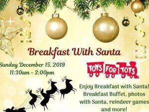 Breakfast with Santa 2019