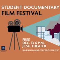 Student Documentary Film Festival Slide