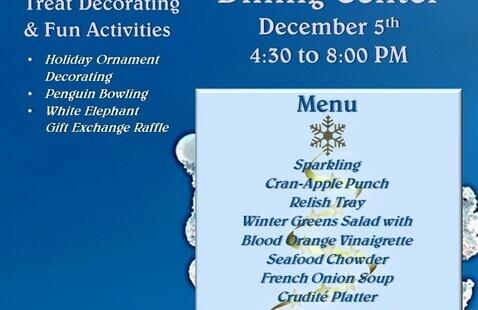 Winter Wonderland Theme Dinner