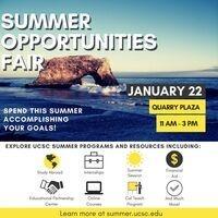 Summer Opportunities Fair