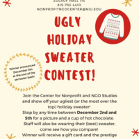 Ugly Holiday Sweater Contest