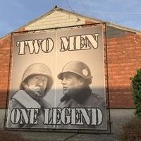 Legendary US Generals Patton and MacAuliffe