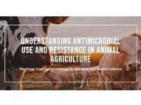 Understanding Antimicrobial Use and Resistance in Animal Agriculture: Findings from Epidemiology, Economics and Social Science
