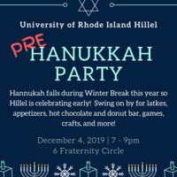 Pre Hanukkah Party