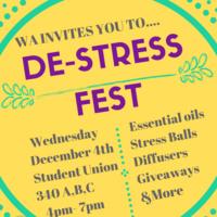 WA De-Stress Fest