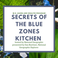 GU Aging and Health Program: Secrets of the Blue Zones Kitchen