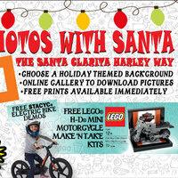 Photos With Santa: The Santa Clarita Harley Way