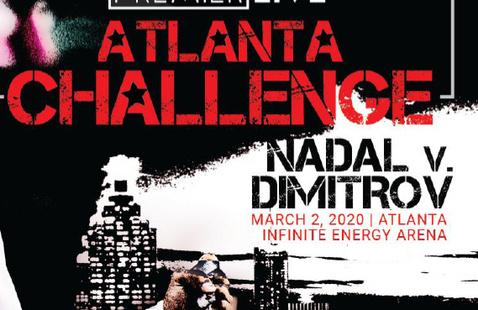 Premier Live Atlanta Challenge Rafael Nadal vs. Grigor Dimitrov