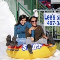 Annual Snow Slide!