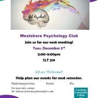 Psychology Club Meeting
