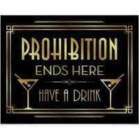 Flappers And Mobsters Celebrate The End Of Prohibition!