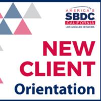 SBDC - New Client Orientation