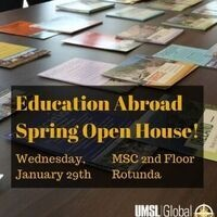 Education Abroad Spring Open House