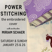 Power Stitching: The Embroidered Cover
