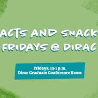 Facts and Snacks Fridays at Dirac: Correlation Does Not Equal Causality: Data Literacy for STEM