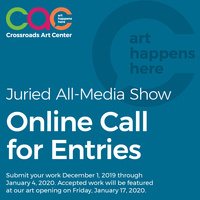 CALL FOR ENTRIES - JANUARY 2020 JURIED ALL MEDIA SHOW