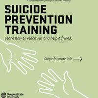Gatekeeper Suicide Prevention Training