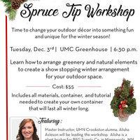 Spruce Tip Workshop