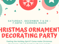 Christmas Ornaments Decorating Party