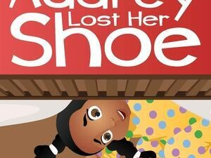 little girl looking for shoe