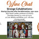 """Wine Chat: """"Strange Cohabitations: Sharing Churches after the Reformation, 1530-2020"""""""
