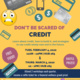 Don't be Scared of Credit **TIME CHANGE**