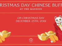 Christmas Day Chinese Buffet at The Mansion