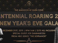 CENTENNIAL ROARING 20S NEW YEAR'S EVE GALA AT THE MANSION AT GLEN COVE