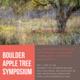 Boulder Apple Tree Symposium