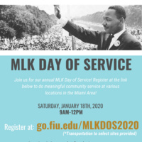 2020 MLK Day of Service