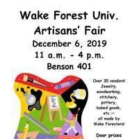 WFU Artisans Fair