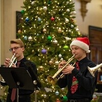 Trumpet Ensemble performs in Lowry Hall at Winterfest 2018!