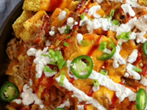 Pitt-Greensburg: Nachos & Buffalo Chicken Dip