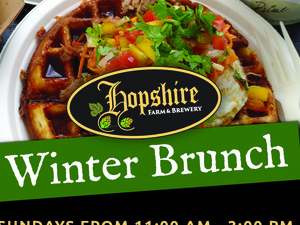 Winter Brunch at Hopshire Brewery