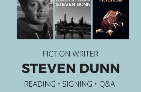 Contemporary Writer Series presents Steven Dunn