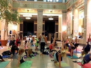 Yoga for Everyone in Central Hall