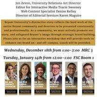 HR Lunch & Learn: University Relations Bryant Branding Workshop