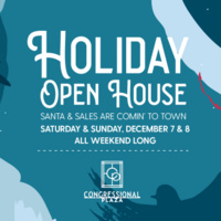 Holiday Open House at Congressional Plaza
