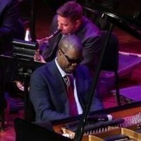 Photo of jazz pianist Marcus Roberts