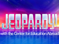 Jeopardy with Center for Education Abroad