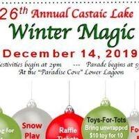 Castaic Lake Winter Magic