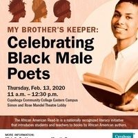 """2020 African American Read-In """"My Brother's Keeper: Celebrating Black Male Poets"""""""