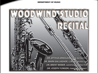 Woodwind Studio Recital poster