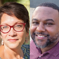 Lamar Giles and Meg Medina in conversation